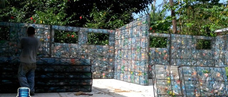 plastic-bottle-village